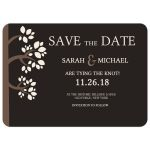 Whispering Trees Save the Date Cards