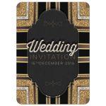 Stylin Art Deco Chalkboard Wedding