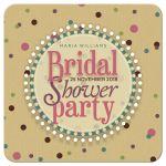 Polka Dot Fun Girls Bridal Shower Party