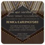 Gatsby Glam Birthday Party Invitation