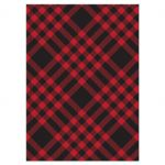 Plaid Mountain Hipster Wedding Response Cards back