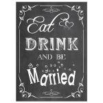 Trendy Scrollwork Chalkboard Typography Wedding Invitation