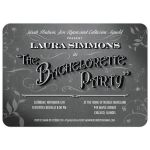 Bachelorette Party Invitation - Vintage Movie Title Screen