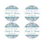 Best winter wonderland return address stickers or favor stickers or seals