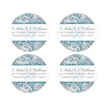 Best winter wonderland return address sticker or seal