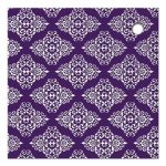 Great silver grey and purple glitter and damask wedding shower favor tags