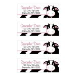 Pink Cow Farm Address Labels