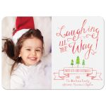 Laughing All The Way Photo Christmas Cards