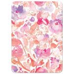 Blissful Blooms Watercolor Floral Wedding Invitations back