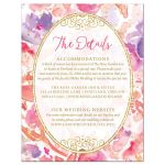 Blissful Blooms Watercolor Flowers Enclosure Cards