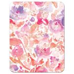 Blissful Blooms Watercolor Flowers Enclosure Cards back