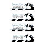 Blue Cow Farm Return Address Mailing Label Sticker