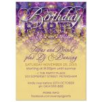 Birthday Invitation | Crystal Sparkle Party