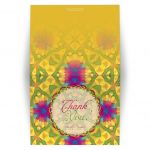 Tropical Fun Bright Art Thank You Card