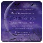 Super Full Moon Halloween Gothic Bridal Shower