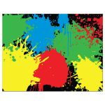 Paintball Party Bar Mitzvah Flat Thank You Note Card