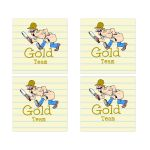 Gold Team Social Media Scavenger Hunt Bar Mitzvah Sticker