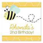 Bumble Bee Gift Tag #2