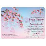 Cherry Blossom Ombre Bridal Wedding Shower invitation
