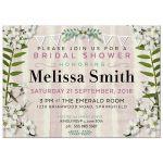 Sweet Blossoms Bridal Shower Invitation