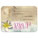 By the Beach RSVP Acceptance Card