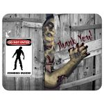 Great zombie thank you card for a Bar or Bat Mitzvah.