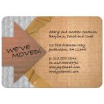 Packing Materials Moving Announcement Housewarming Party Invitation