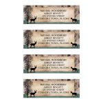 Address Labels - Deer Rustic Woodsy