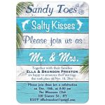 Sandy Toes Salty Kisses Post Wedding Reception
