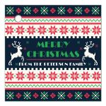 Ugly Christmas sweater holiday gift tags