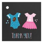 Touchdowns or Tutus Gift Tag | Gender Reveal Baby Shower