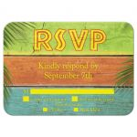 Sandy Toes Salty Kisses RSVP with menu