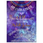 Bohemian Bridal Shower Invitation