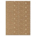 Elegant rustic burlap and lace wedding reception enclosure card back