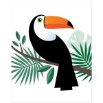 Toucan nursery wall art print