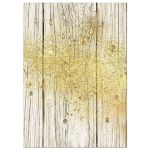 Gold Dust Rustic Invitation