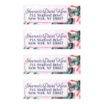 Watercolor Butterfly Mailing Labels - Return Address Labels