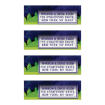 Rolling Hills Under the Stars Address Labels
