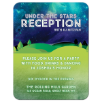 Outdoor Reception Party Card