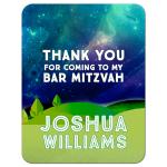 Great Outdoors Bat Mitzvah Thank You Card