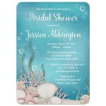 Bridal Shower Invitations - Whimsical Under the Sea