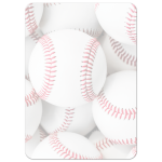 Baseball Bar Mitzvah Invitations - sports theme