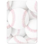 Baseball Bar Mitzvah Invitations - sports theme