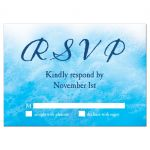 beach sand and ocean waves RSVP