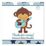 Rock Star Monkey Favor Tag / Gift Tags