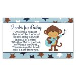 Rock Star Monkey Books for Baby Enclosure Card