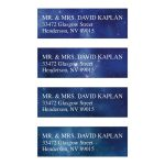 Constellation Outer Space Return Address Labels