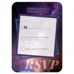 Infinity of Stars Bat Mitzvah RSVP Response Card