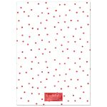 Red Polka Dots Merry Christmas Holiday Photo Cards by The Spotted Olive - Back