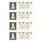 Yoga Bridal Shower Address Labels